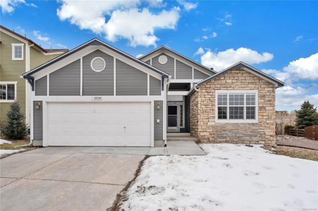11081 Cannonade Drive, Parker, CO 80138 (MLS #7010255) :: Bliss Realty Group