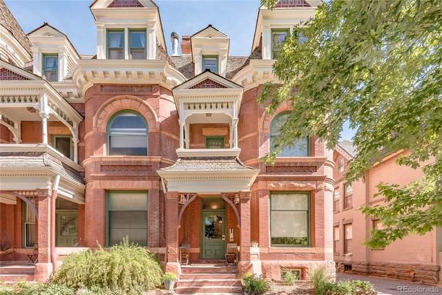 1021 E 17th Avenue #21, Denver, CO 80218 (#7011756) :: Venterra Real Estate LLC