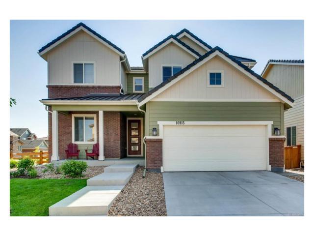 10915 Touchstone Loop, Parker, CO 80134 (MLS #7014311) :: 8z Real Estate