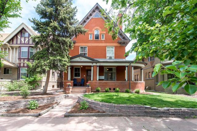 1136 N Logan Street #2, Denver, CO 80203 (#7019822) :: Bring Home Denver