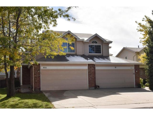 532 W 114th Way, Northglenn, CO 80234 (#7022856) :: The Peak Properties Group