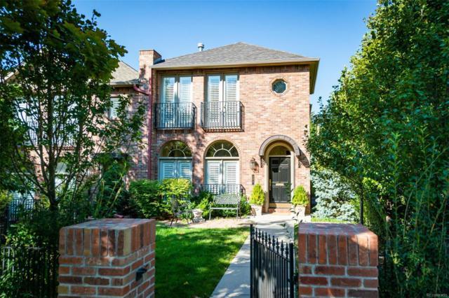 399 Madison Street, Denver, CO 80206 (#7022922) :: The Peak Properties Group