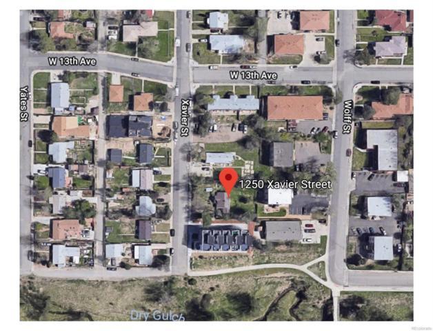 1250 Xavier Street, Denver, CO 80204 (MLS #7023395) :: 8z Real Estate