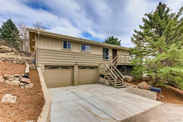407 Dunn Road, Golden, CO 80403 (#7024949) :: Portenga Properties