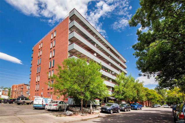 1441 N Humboldt Street #103, Denver, CO 80218 (MLS #7026655) :: 8z Real Estate
