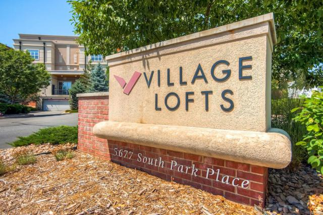 5677 S Park Place 110B, Greenwood Village, CO 80111 (#7027482) :: The City and Mountains Group