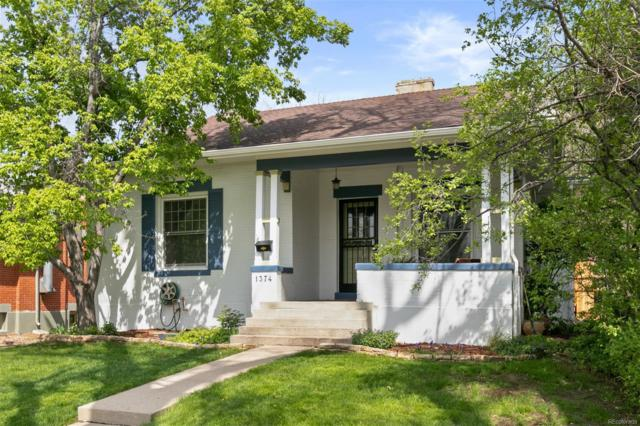 1374 Poplar Street, Denver, CO 80220 (#7036760) :: House Hunters Colorado