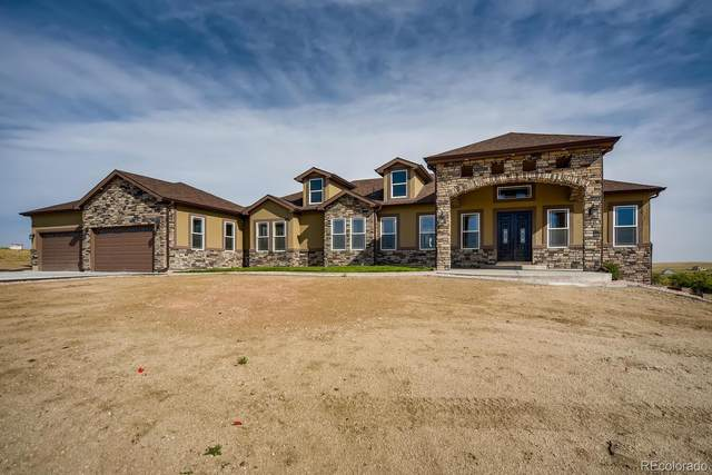 2497 Antelope Ridge Trail, Parker, CO 80138 (#7038576) :: James Crocker Team