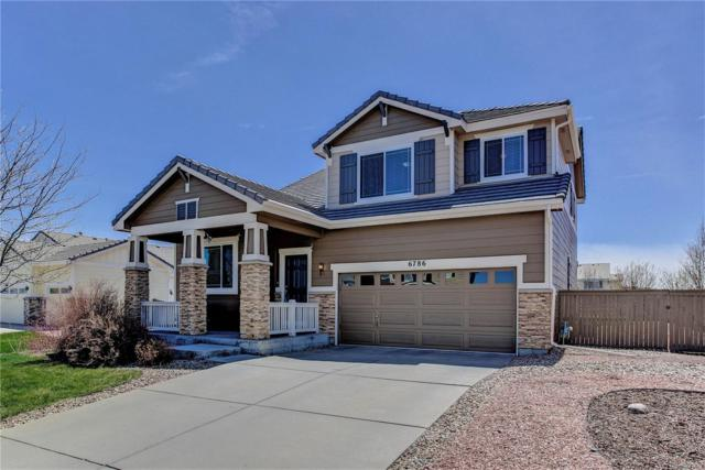 6786 Halifax Avenue, Castle Rock, CO 80104 (#7039981) :: Bring Home Denver with Keller Williams Downtown Realty LLC