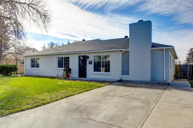 821 Revere Street, Aurora, CO 80011 (#7048242) :: The Griffith Home Team