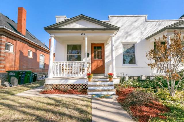 366 S Sherman Street, Denver, CO 80209 (#7049235) :: Bring Home Denver with Keller Williams Downtown Realty LLC
