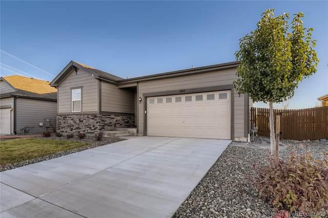 448 Blue Teal Drive, Castle Rock, CO 80104 (MLS #7050076) :: 8z Real Estate