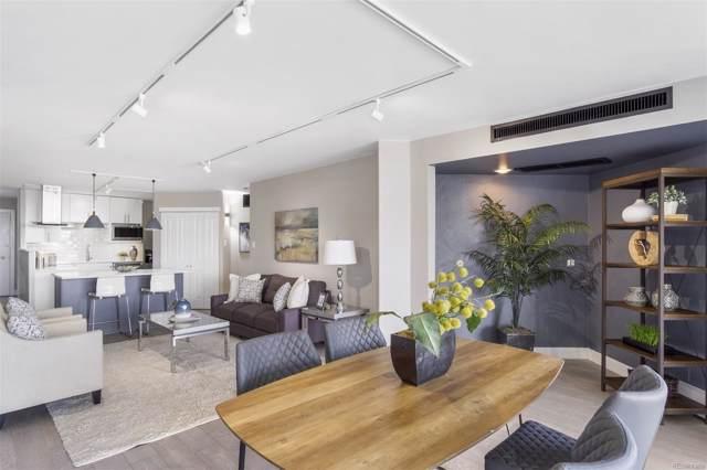 550 E 12th Avenue #1201, Denver, CO 80203 (MLS #7050526) :: 8z Real Estate