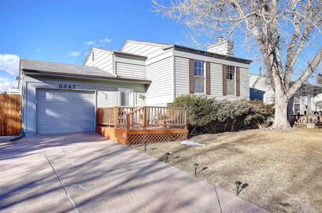 8847 Prickly Pear Circle, Parker, CO 80134 (#7054188) :: The Tamborra Team