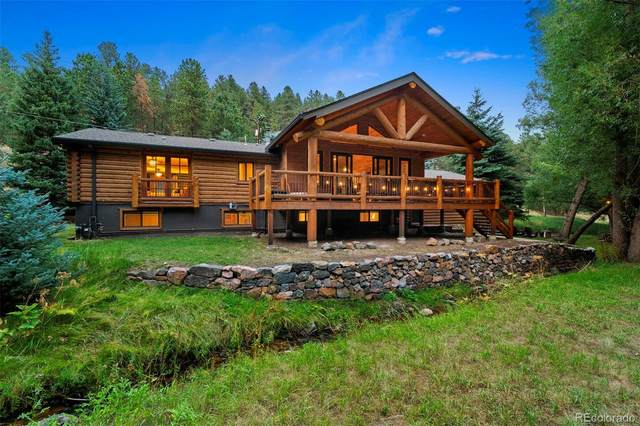 27456 Troublesome Gulch Road, Evergreen, CO 80439 (#7054905) :: The Heyl Group at Keller Williams
