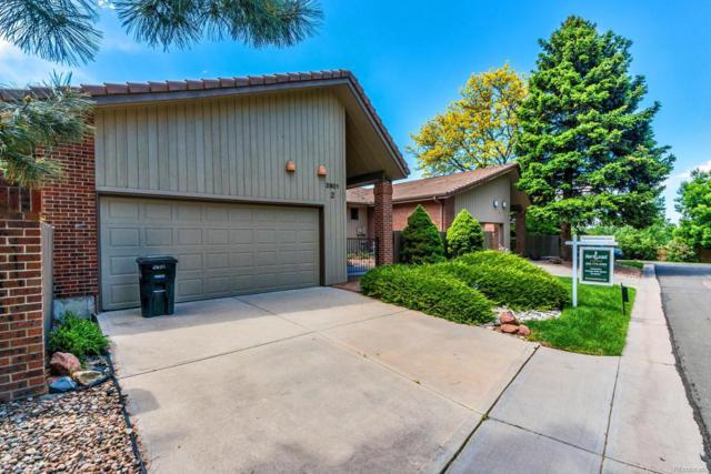 2601 S Quebec Street #2, Denver, CO 80231 (#7055332) :: Wisdom Real Estate