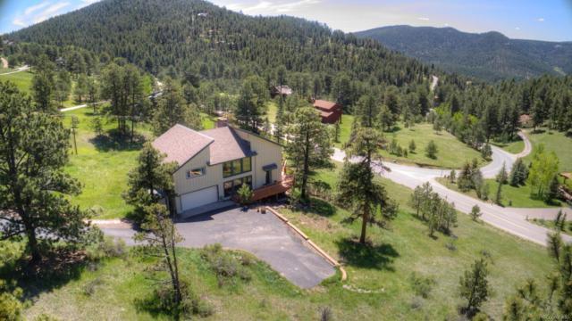 136 Elk Drive, Evergreen, CO 80439 (#7056629) :: Harling Real Estate