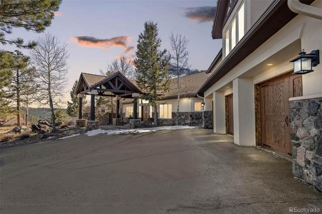 32900 Serendipity Trail, Evergreen, CO 80439 (MLS #7057866) :: The Sam Biller Home Team