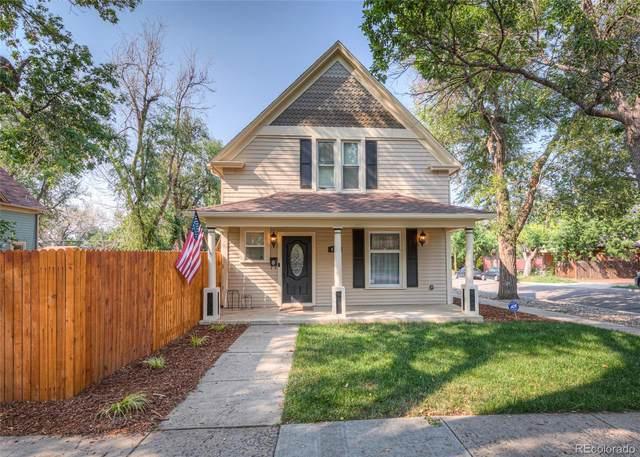 823 W Pikes Peak Avenue, Colorado Springs, CO 80905 (MLS #7059179) :: Keller Williams Realty