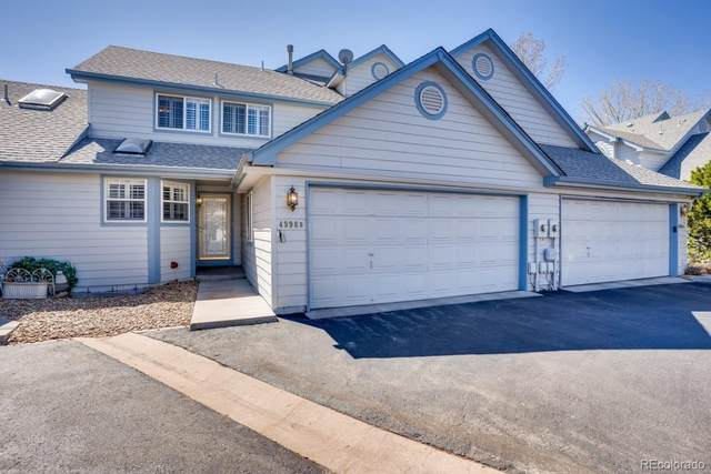 4998 S Nelson Street B, Littleton, CO 80127 (#7059463) :: The Griffith Home Team
