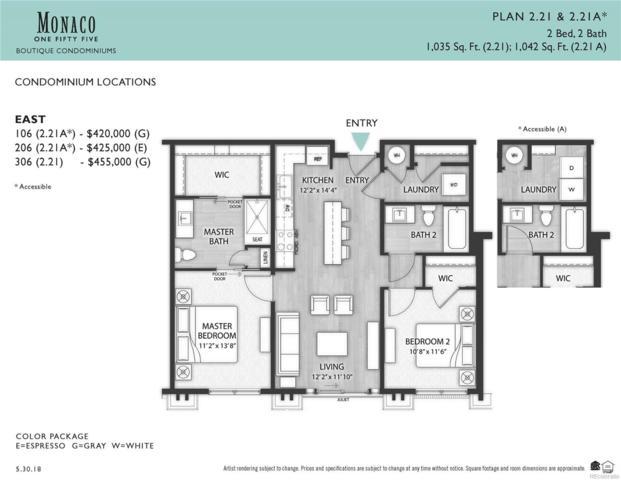 155 S Monaco Parkway #306, Denver, CO 80224 (#7066675) :: Ben Kinney Real Estate Team