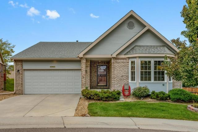 4965 Greenwich Lane, Highlands Ranch, CO 80130 (MLS #7066884) :: 8z Real Estate