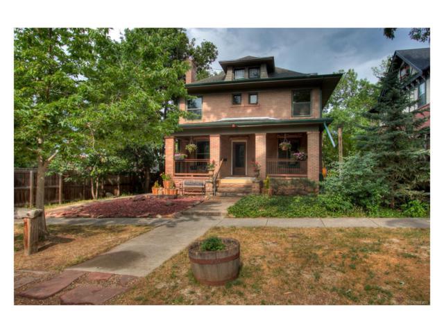 980 11th Street, Boulder, CO 80302 (#7067183) :: The Peak Properties Group
