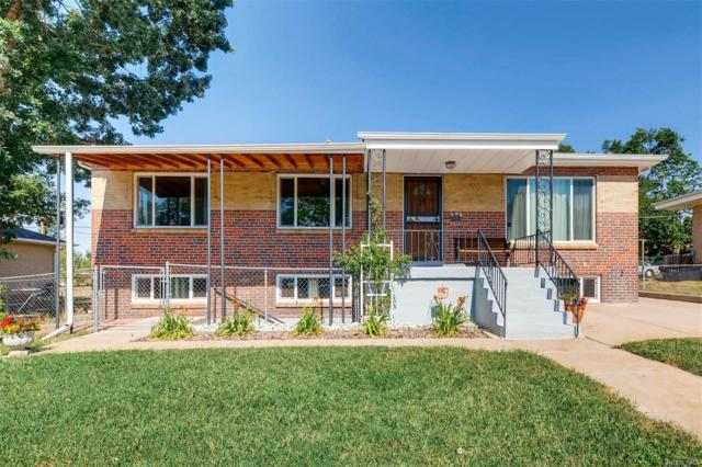 470 S Bryant Street, Denver, CO 80219 (#7068735) :: The Pete Cook Home Group