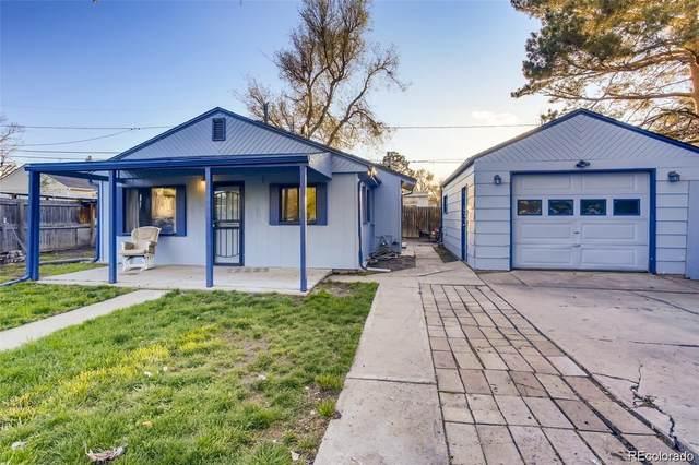 591 S Meade Street, Denver, CO 80219 (#7068738) :: The Griffith Home Team