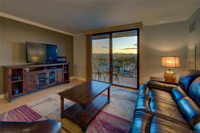 1301 Speer Boulevard #1002, Denver, CO 80204 (#7072606) :: Sellstate Realty Pros