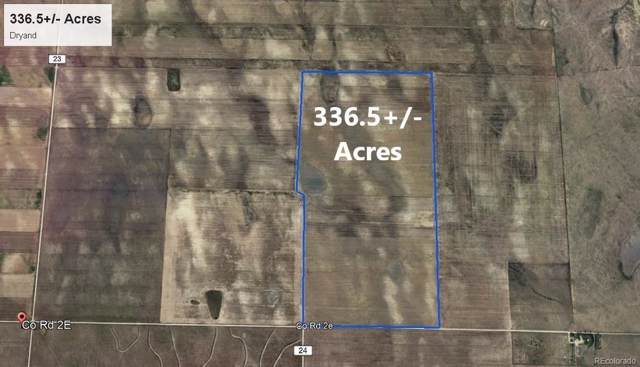 336.5 +/- Acres - Dryland, Hugo, CO 80821 (MLS #7080435) :: 8z Real Estate