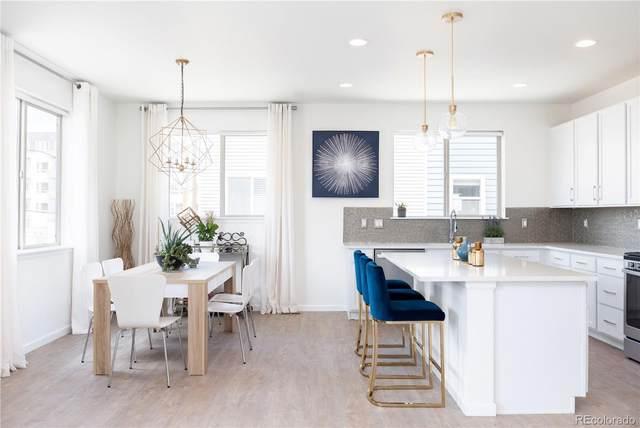 4140 E Warren Avenue #1, Denver, CO 80222 (#7081338) :: Kimberly Austin Properties