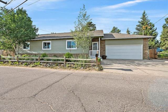 30742 Hilltop Drive, Evergreen, CO 80439 (#7086718) :: Finch & Gable Real Estate Co.