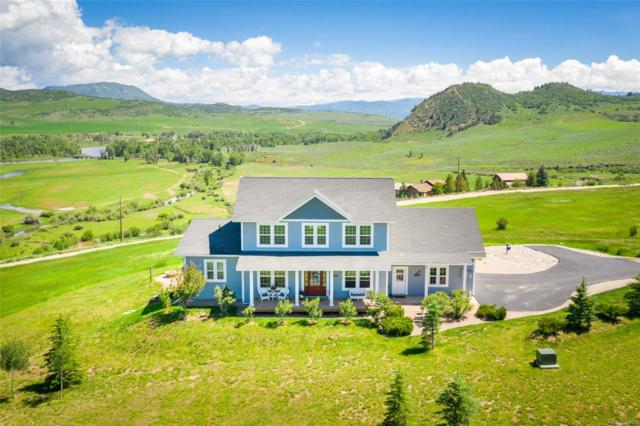 37625 Saddle Mountain Drive, Steamboat Springs, CO 80487 (#7088635) :: Mile High Luxury Real Estate