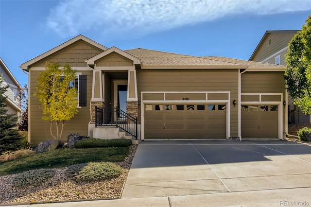 2418 Robin Song Court, Castle Rock, CO 80109 (#7091151) :: The FI Team