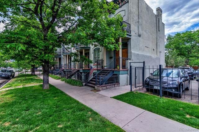 1319 E 17th Avenue, Denver, CO 80218 (#7091697) :: James Crocker Team