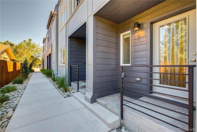 435 S Forest Street #6, Denver, CO 80246 (#7091728) :: The DeGrood Team