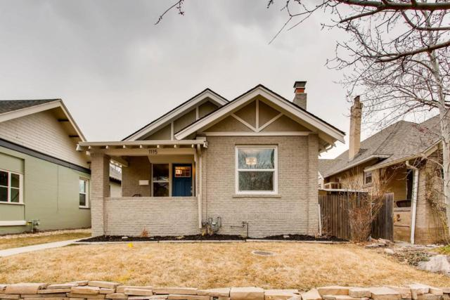 1115 Madison Street, Denver, CO 80206 (#7094188) :: The Pete Cook Home Group
