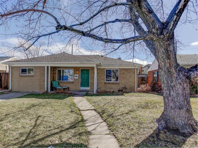 1260 S Harrison Street, Denver, CO 80210 (#7094793) :: The Peak Properties Group