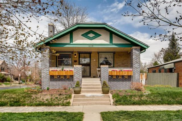 805 E 4th Avenue, Denver, CO 80218 (#7096539) :: The Pete Cook Home Group