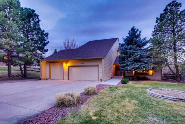 6485 Mountain Manor Court, Parker, CO 80134 (#7099439) :: The DeGrood Team