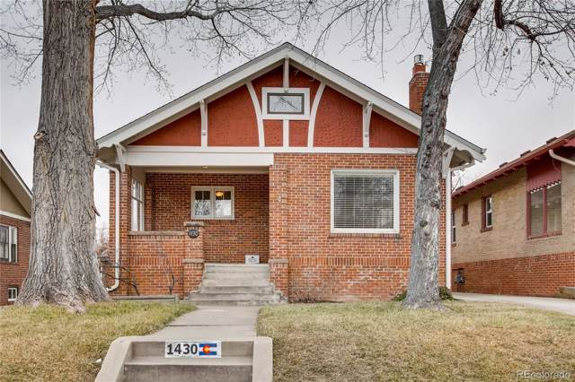 1430 Dahlia Street, Denver, CO 80220 (#7102507) :: The HomeSmiths Team - Keller Williams