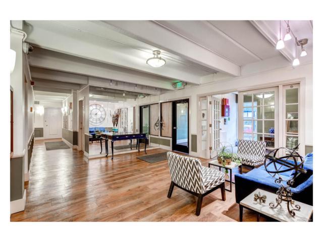 1255 N Ogden Street #606, Denver, CO 80218 (MLS #7103651) :: 8z Real Estate