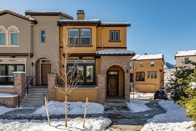 15592 W Washburn Circle, Lakewood, CO 80228 (MLS #7105280) :: 8z Real Estate