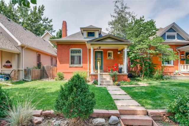 653 S Washington Street, Denver, CO 80209 (MLS #7106913) :: The Biller Ringenberg Group