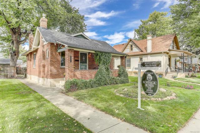 3945 Meade Street, Denver, CO 80211 (#7107075) :: The Peak Properties Group