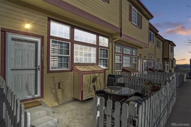 8199 Welby Road #2305, Denver, CO 80229 (MLS #7108079) :: 8z Real Estate