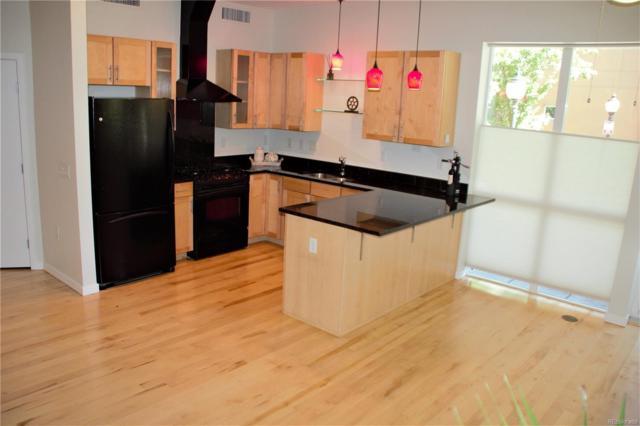 1438 Little Raven Street #102, Denver, CO 80202 (#7109540) :: The Peak Properties Group