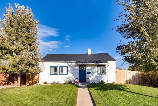 1100 Quince Street, Denver, CO 80220 (MLS #7115516) :: The Sam Biller Home Team