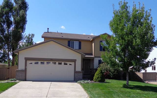 973 Crenshaw Street, Castle Rock, CO 80104 (#7117032) :: Arnie Stein Team | RE/MAX Masters Millennium